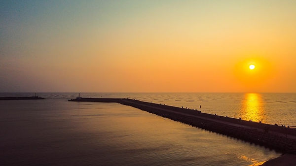 view of Sunset Platform │Marriage Proposal Works, beach, sea