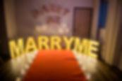 求婚道具出租-marry me大字燈包套