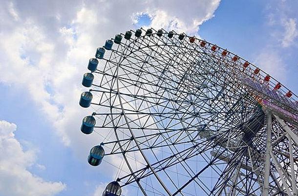 Ferris wheel of Janfusun fancy world│ Amusement Park Marriage Proposal