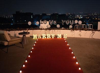 簡單愛套餐 │ 台中求婚布置、台中求婚道具出租、艾杜創意