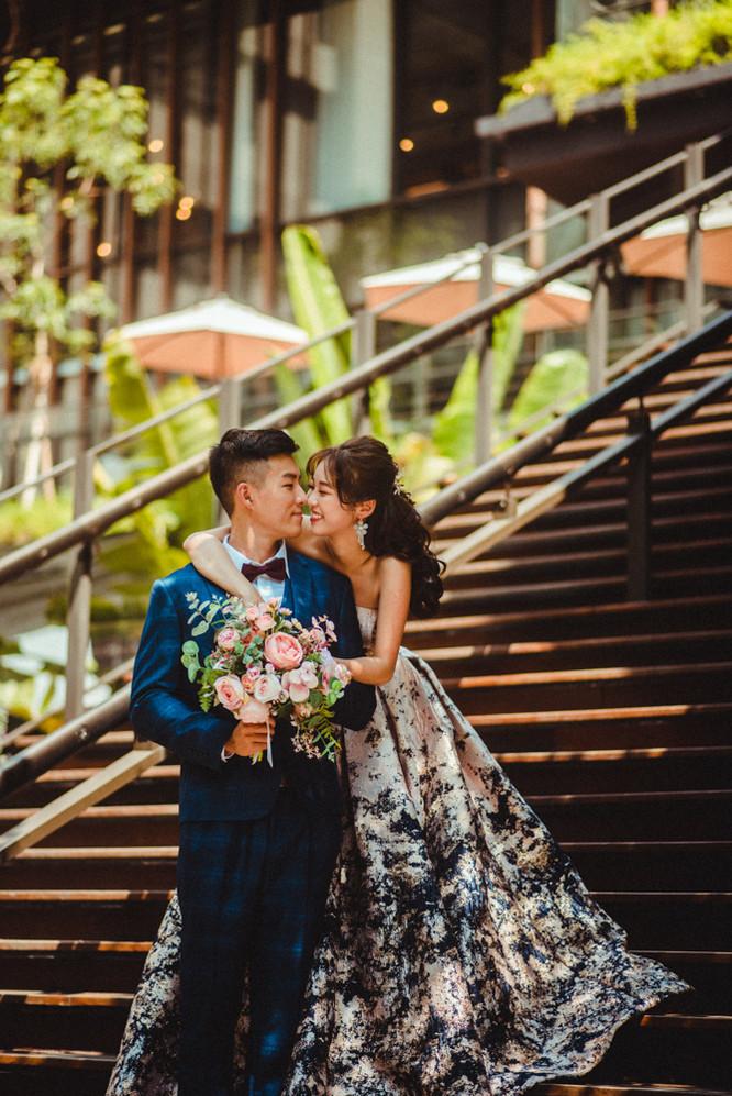 階梯婚紗攝影