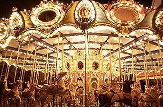 Carousel│ Marriage Proposal in Taiwan, amusement park, Taichung