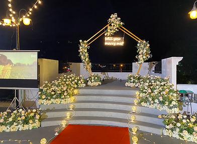 求婚布置-煙火繽紛套餐 │求婚布置、求婚道具租借、艾杜創意