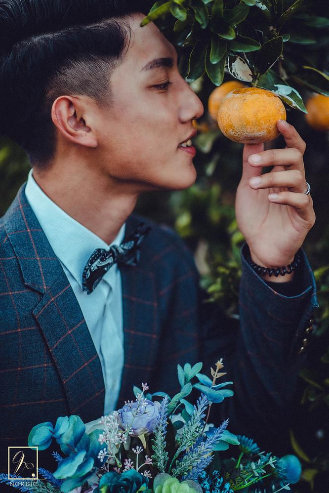 男生婚紗拍攝自然姿勢