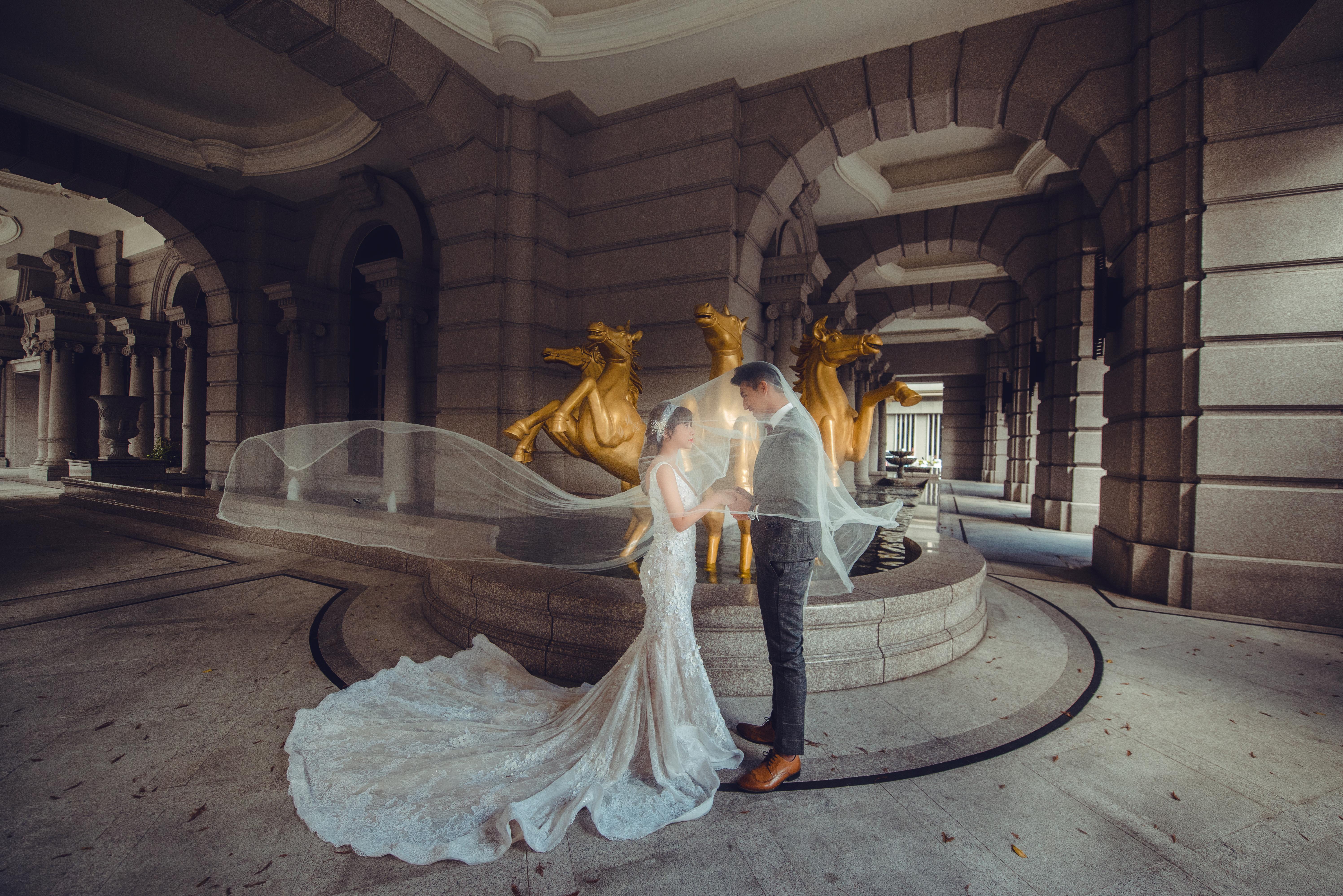台中古典婚紗攝影,台中婚紗赫里翁,台中婚紗秘境攝影,台中復古禮服推薦