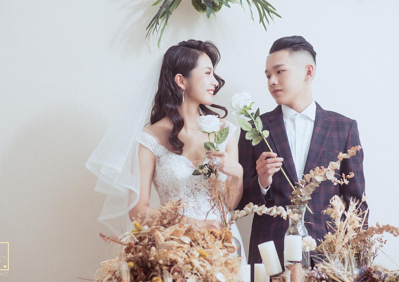 互動式婚紗