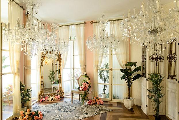 婚紗基地室內法式浪漫攝影場地