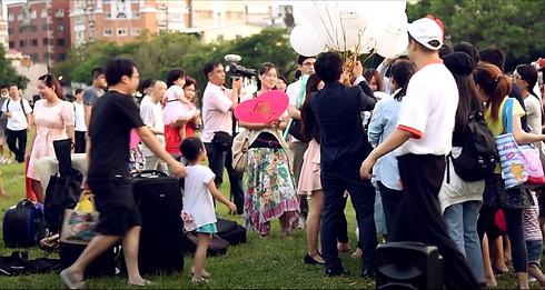街頭求婚、公園求婚