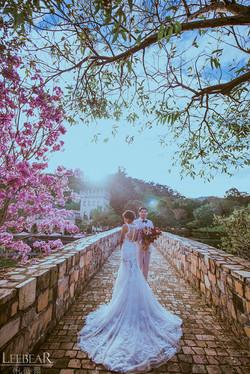 台中新社古堡婚紗攝影推薦,台中婚紗攝影歐洲風景推薦