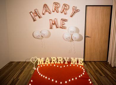 台中求婚道具租借-簡單愛求婚包套