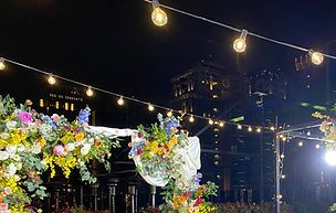 求婚道具租借-天空燈串 │台中求婚布置推薦、包場求婚布置、艾杜創意