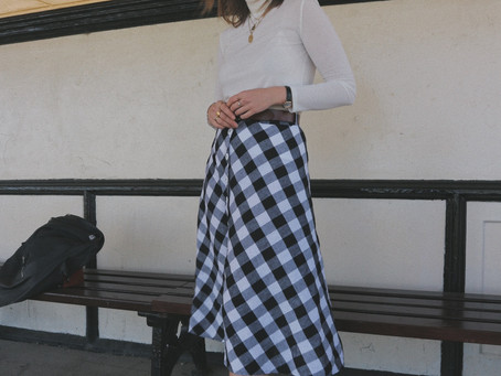 A Moment for Midi Skirts