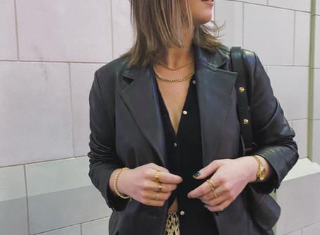 The Leather Blazer