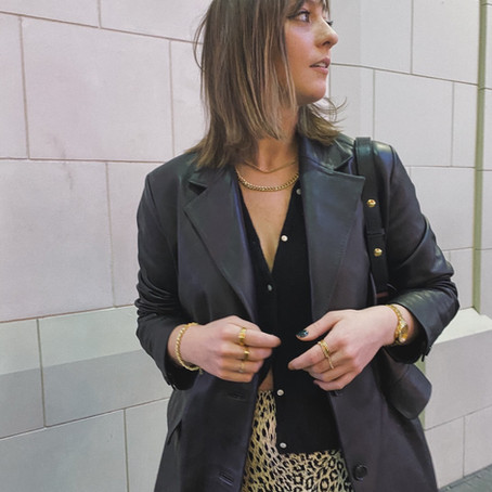 The Leather Blazer