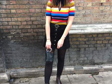 Rachael and The Amazing Technicolour Dream Knit