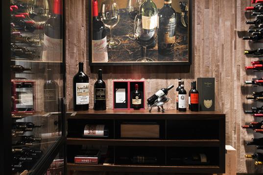 Wine Cellar with 500 Bottles