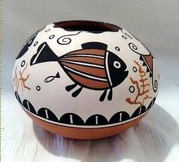 JC Pueblo Pescado round bowl.jpg