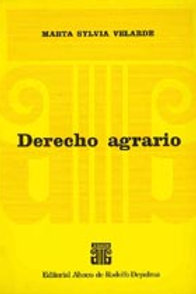 VELARDE, MARTA S.: Derecho agrario