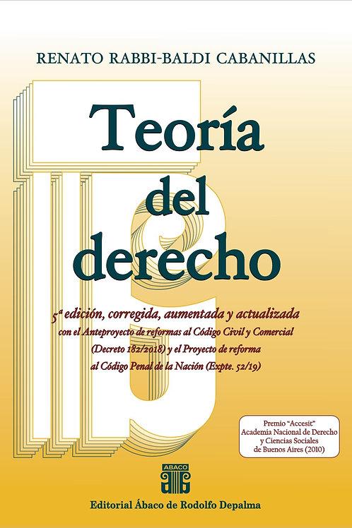 COMBO: Teoría del derecho, 5ª ed. + Lecciones de Teoría, 2ª ed.