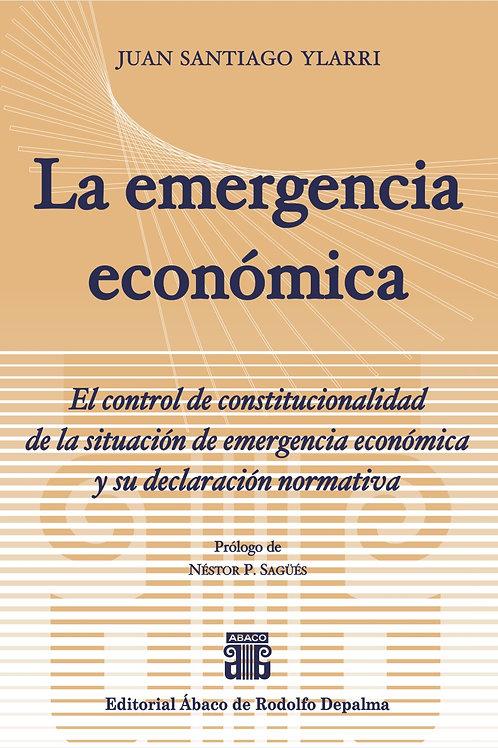 YLARRI, JUAN S.: La emergencia económica