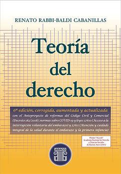 TAPA TEORIA DEL DERECHO - 6 EDICION - SO