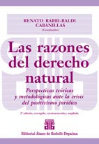 RABBI-BALDI CABANILLAS, RENATO: Las razones del derecho natural, 2ª ed. (Coord.)