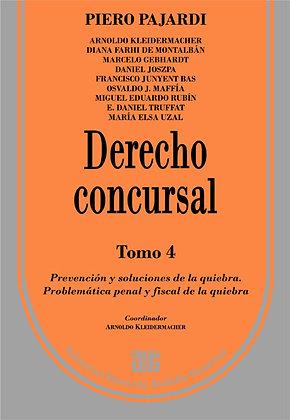 PAJARDI, PIERO: Derecho concursal. Tomo4
