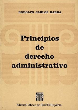 RODOLFO BARRA: Principios de derecho administrativo