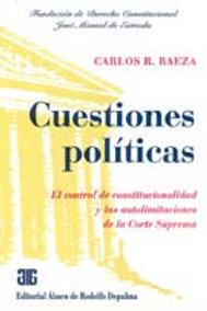 BAEZA, CARLOS R.: Cuestiones políticas