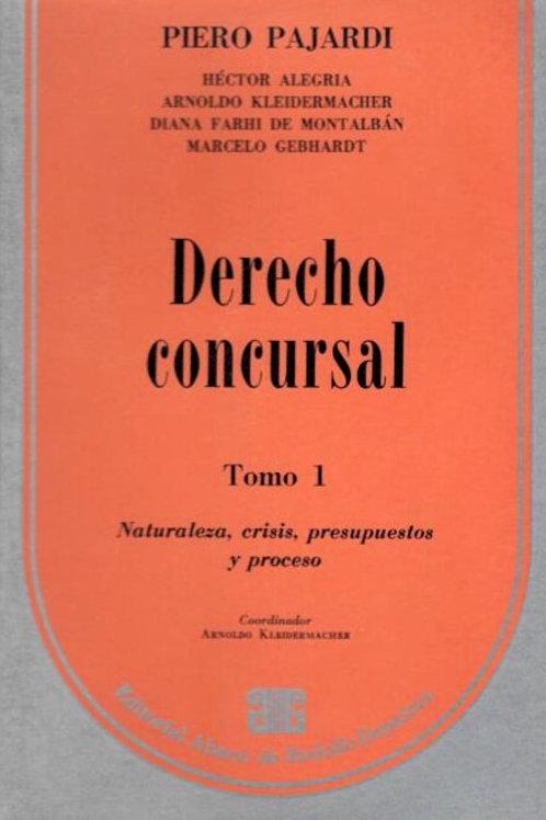 PAJARDI, PIERO: Derecho concursal. Tomo 1