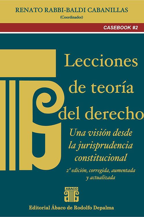 RABBI-BALDI CABANILLAS, RENATO: Lecciones de teoría del derecho, 2ª edi