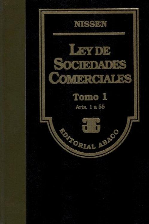 RICARDO AUGUSTO NISSEN: Ley de Sociedades Comerciales. 5 tomos.