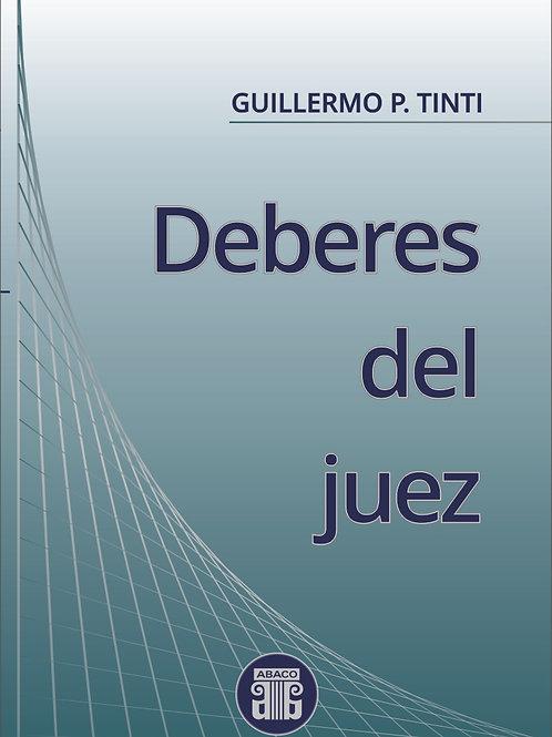 TINTI, GUILLERMO P. : Deberes del juez
