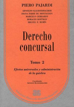 PAJARDI, PIERO: Derecho concursal. Tomo 2