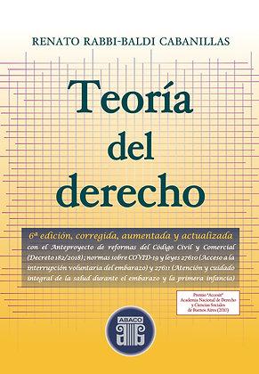 COMBO: RABBI-BALDI Teoría del derecho, 6ª ed. 2021 + Lecciones de Teoría, 2ª ed.