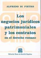 DI PIETRO, A: Los negocios jurídicos patrimoniales y los contratos en el . . .