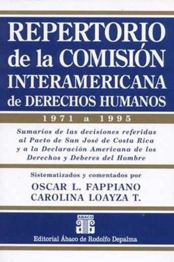 FAPPIANO, O.L., y LOAYZA T., C.: Repertorio de la Comisión Interamericana de DH.
