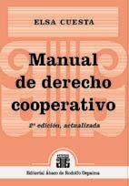ELSA CUESTA: Manual de derecho cooperativo. 2ª edición, actualizada
