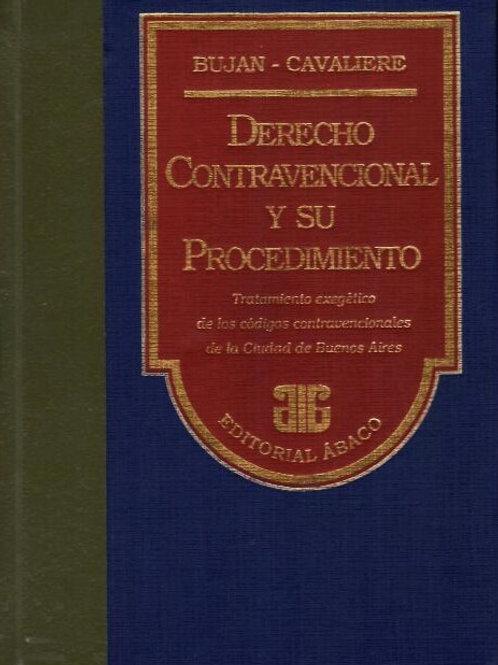 BUJAN - CAVALIERE: Derecho contravencional y su procedimiento