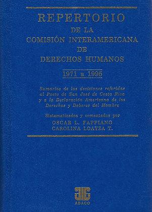 FAPPIANO, O.L., y LOAYZA T.C.: Repertorio de la Comisión Int. de los DH (E.)