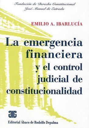 IBARLUCÍA: La emergencia financiera y el control judicial de constitucionalidad