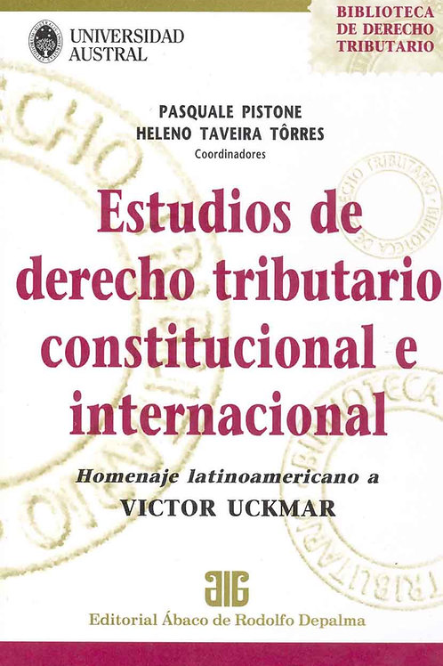 PISTONE, P.: Estudios de derecho tributario constitucional e internacional