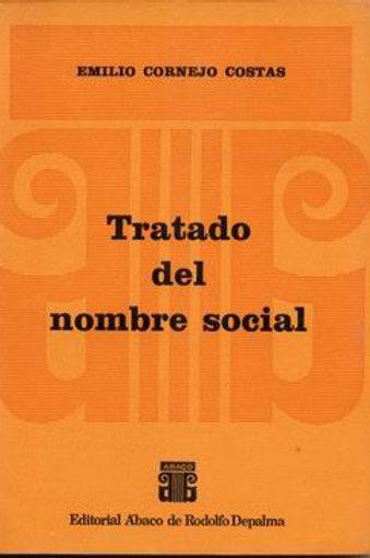 CORNEJO COSTAS, EMILIO: Tratado del nombre social