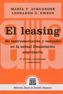 ACQUARONE, MARÍA T., y EMBON, LEONARDO G.: El leasing