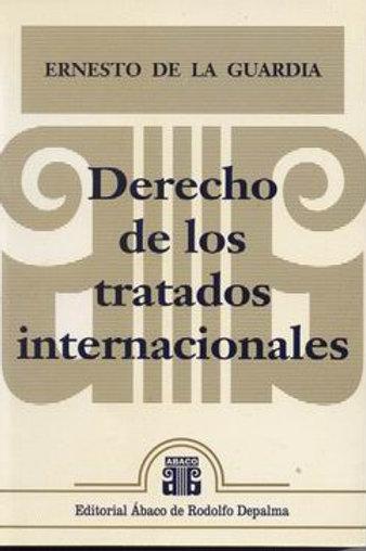 DE LA GUARDIA, ERNESTO: Derecho de los tratados internacionales