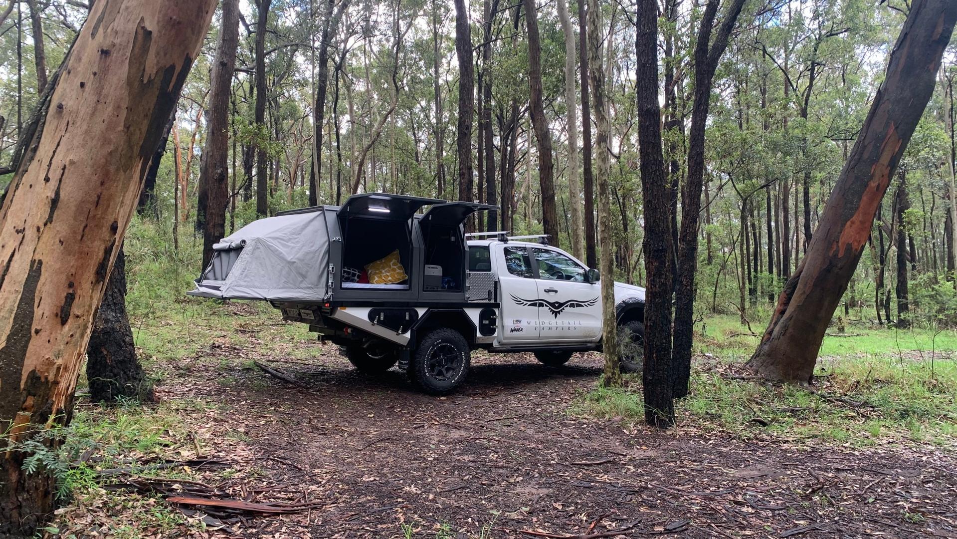 Hawk Canopy Camper