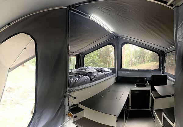 Wedgetail spacious interior
