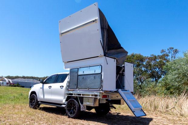 Wedgetail 18 Camper, Dual Cab Version