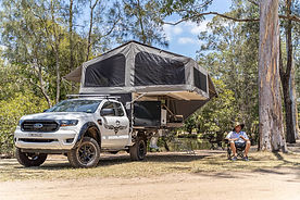 Wedgetail 22 Slide on Camper. 4wd camper