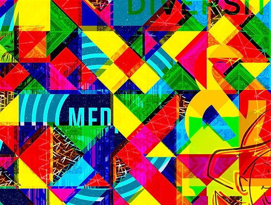 Crazy Color Collage